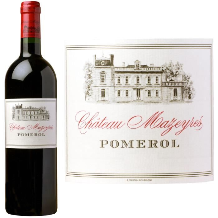 VIN ROUGE Château Mazeyres 2013 Pomerol - Vin rouge de Borde