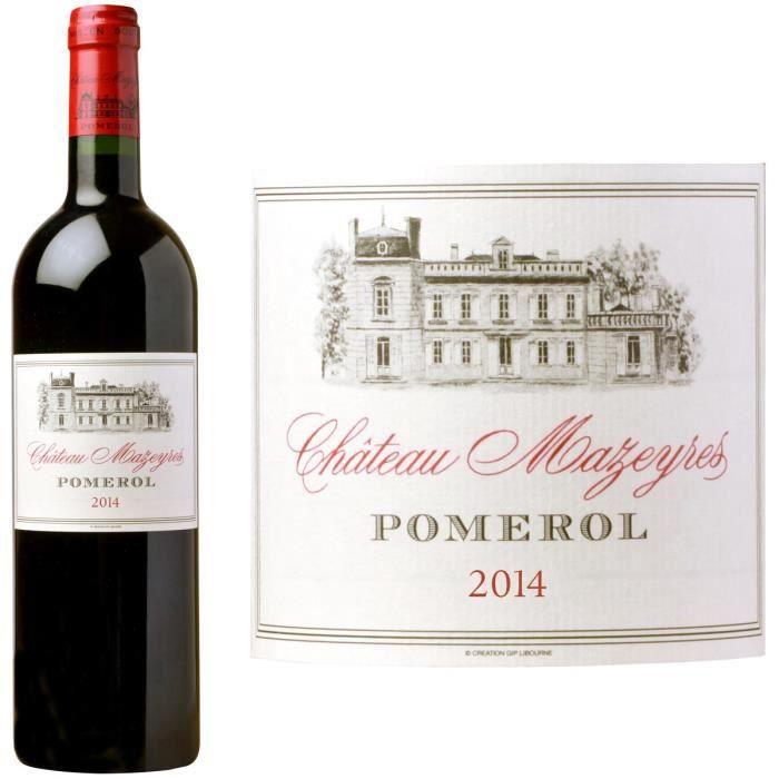 VIN ROUGE Château Mazeyres 2014 Pomerol - Vin rouge de Borde