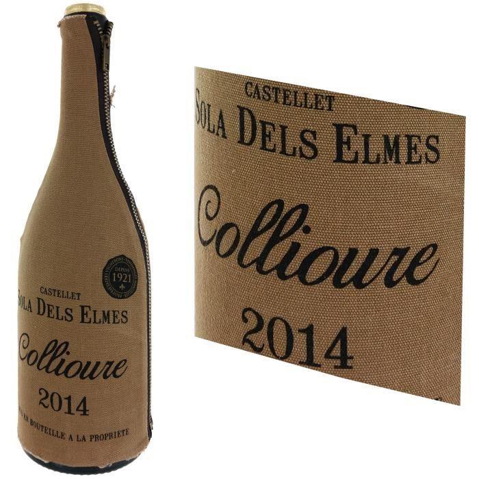 VIN ROUGE Castellet Sola Dels Elmes 2014 Collioure - Vin rou