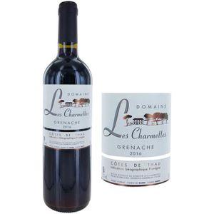 VIN ROUGE Domaine des Charmettes 2016 Côtes de Thau - Vin du