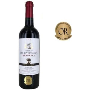 VIN ROUGE Château Les Raymonds 2016 Bordeaux Rge
