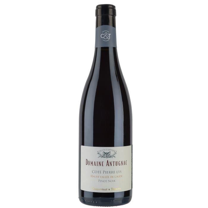 """VIN ROUGE Domaine Antugnac """"Côté Pierre Lys"""" 2016 Pinot Noir"""