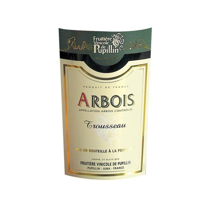 VIN ROUGE Fruitière Vinicole de Pupillin 2016 Arbois Trousse