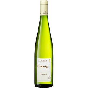VIN BLANC Koenig 2017 Riesling - Vin Blanc d'Alsace Cascher