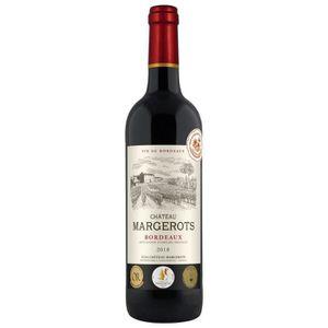 VIN ROUGE Château Margerots 2018 Bordeaux - Vin rouge de Bor