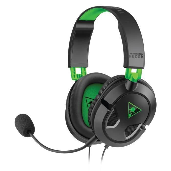 destockage turtle beach micro casque gamer recon 50x. Black Bedroom Furniture Sets. Home Design Ideas