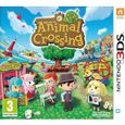 SORTIE JEUX VIDEO ANIMAL CROSSING NEW LEAF / Jeu console 3DS