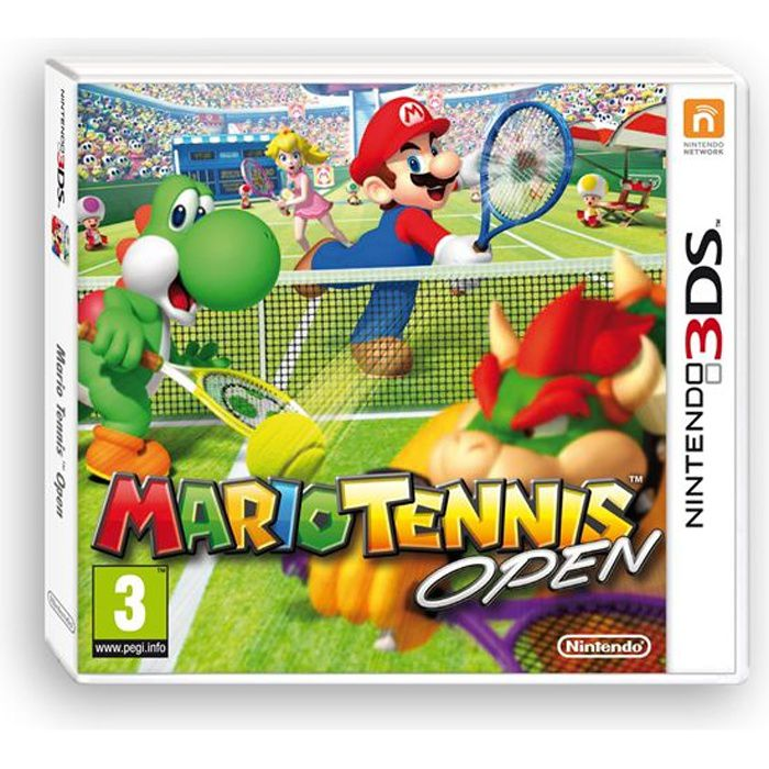 mario tennis open 2 jeu 3ds achat vente jeu 3ds mario tennis open 2ds 3ds cdiscount. Black Bedroom Furniture Sets. Home Design Ideas