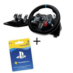 VOLANT PC LOGITECH Volant G29 PS4 et PC + Abonnement Playsta
