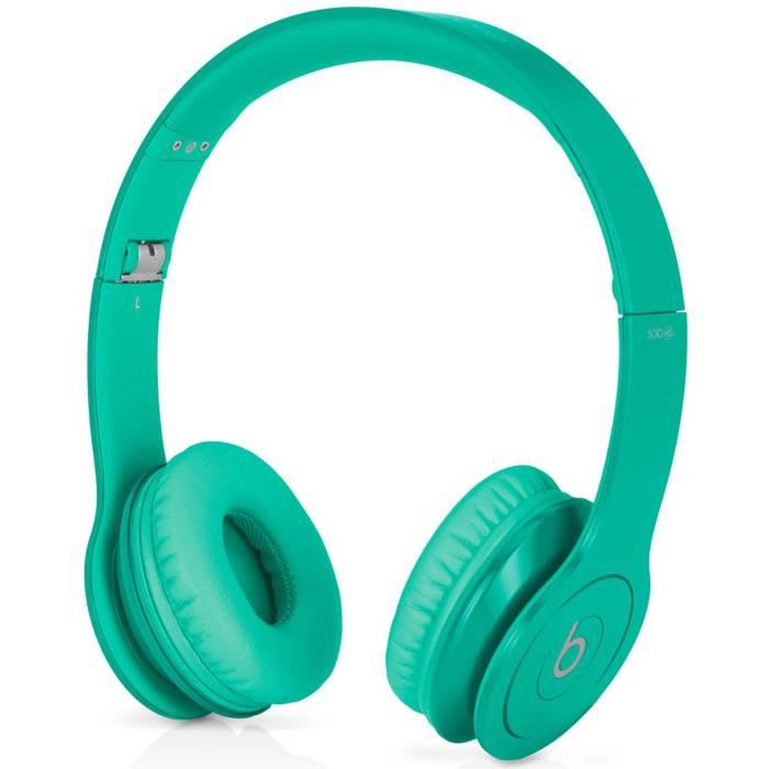 beats solo hd light green casque audio avec micro. Black Bedroom Furniture Sets. Home Design Ideas