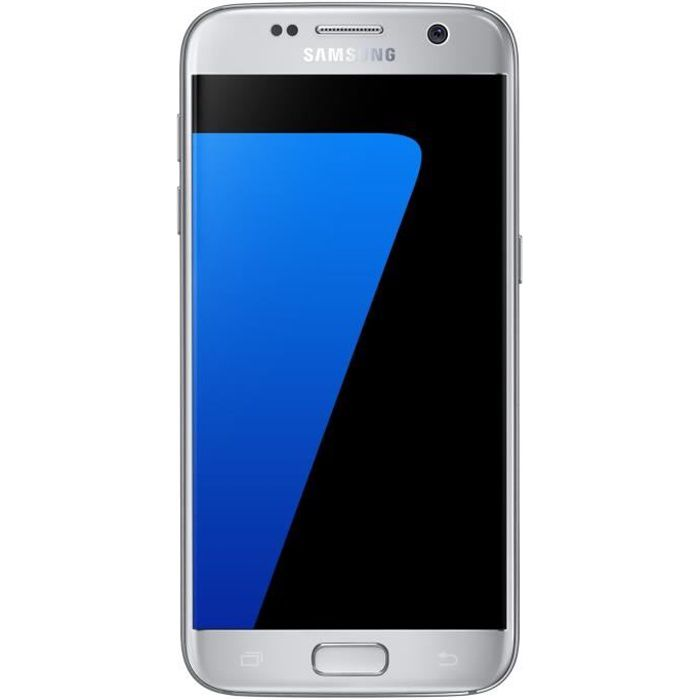 samsung galaxy s7 argent achat smartphone pas cher avis. Black Bedroom Furniture Sets. Home Design Ideas