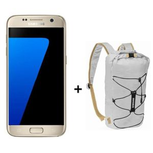 SMARTPHONE Samsung Galaxy S7 or + sac à dos waterproof