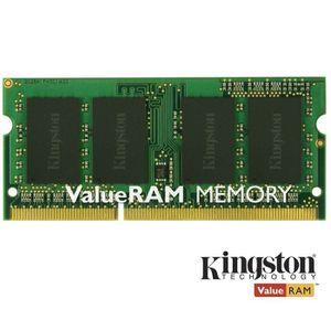 MÉMOIRE RAM Kingston 4Go DDR3 SODIMM 1333MHz CL9