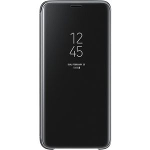 HOUSSE - ÉTUI Samsung Clear View Cover Stand S9 - Noir