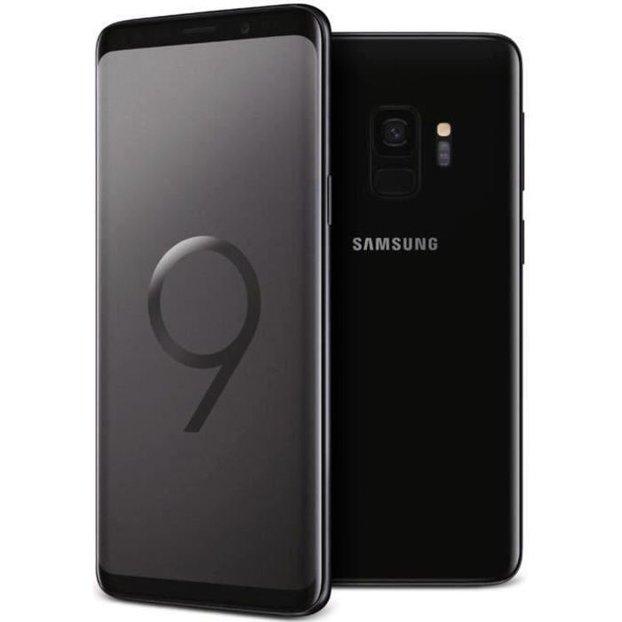 SMARTPHONE Samsung Galaxy S9 Noir Carbone - Double Sim