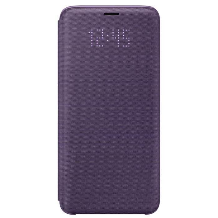 HOUSSE - ÉTUI Samsung LED View Cover S9 - Violet