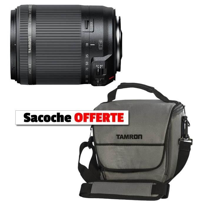 tamron 18 200 mm nikon sacoche offerte achat vente. Black Bedroom Furniture Sets. Home Design Ideas