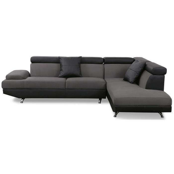 canap sofa divan scoop canap dangle droit 4 places - Canape L