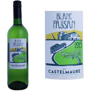 VIN BLANC Le Blanc Paysan 2015 Corbières - Vin blanc du Lang