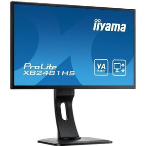 ECRAN ORDINATEUR Ecran PC LED - IIYAMA ProLite XB2481HS-B1 - 24