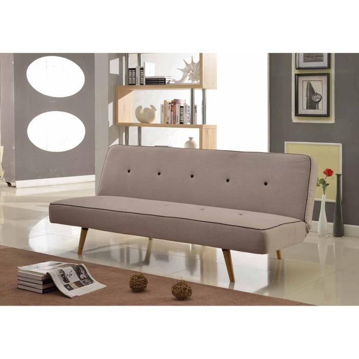 helsinki banquette clic clac convertible 3 places. Black Bedroom Furniture Sets. Home Design Ideas
