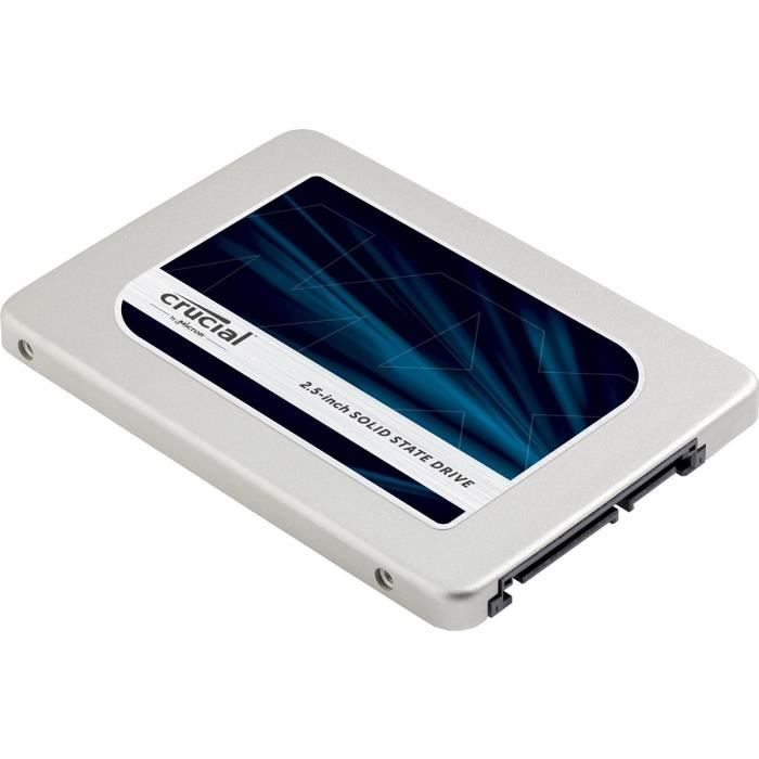 "DISQUE DUR SSD Crucial SSD MX300 2To - 2,5"" - 7mm  CT2050MX300SSD"