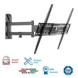FIXATION - SUPPORT TV MELICONI 600 SDR Support TV mural orientable Slim