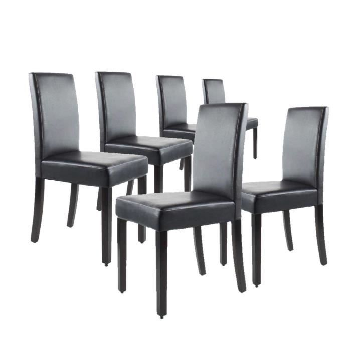 Clara lot de 6 chaises 28 images clara lot de 8 for Lot de 6 chaise salle a manger