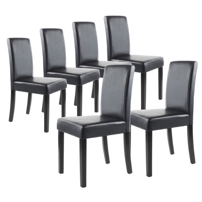 chaises de salle a manger a prix discount. Black Bedroom Furniture Sets. Home Design Ideas