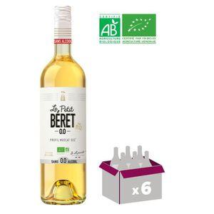 Apéritif à base de vin LE PETIT BERET Blanc Sec Boisson sans Alcool à bas
