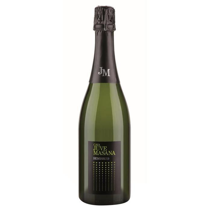 VIN BLANC JUVE MASANA CAVA Vin d'Espagne Demi sec - Blanc -