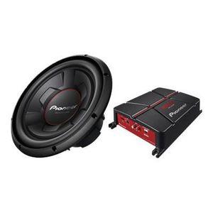CAISSON DE BASSE PIONEER Pack Subwoofer Amplificateur GXT 3706B SET