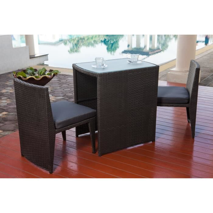 Table pliante en plastique 4 places