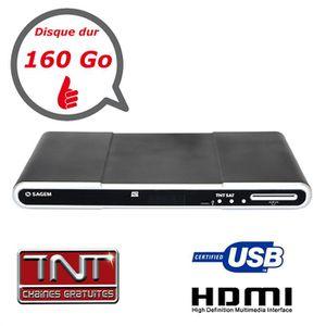 RÉCEPTEUR - DÉCODEUR   Recepteur TNT SAT / HD / Double Tuner / DD 160Go