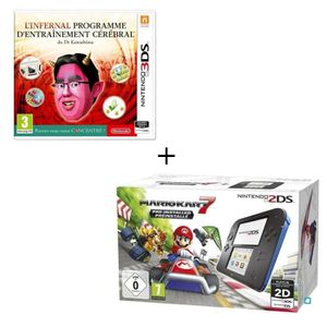 CONSOLE 2DS Console 2DS Bleue + New Super Mario Bros 2 + Jeu l