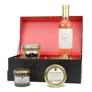 COFFRET CADEAU ÉPICERIE D de TOULZAC M. de Turenne Coffret de foie gras, c