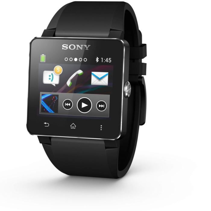 sony smartwatch 2 montre connect e bluetooth 3 0 nfc pour smartphone bracelet en silicone. Black Bedroom Furniture Sets. Home Design Ideas