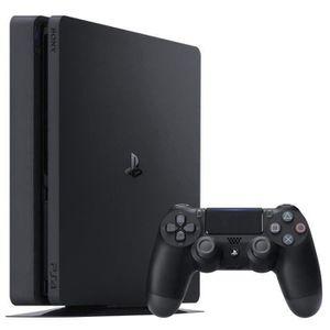 CONSOLE PS4 Console PS4 Slim 500Go Noire/Jet Black - Châssis E