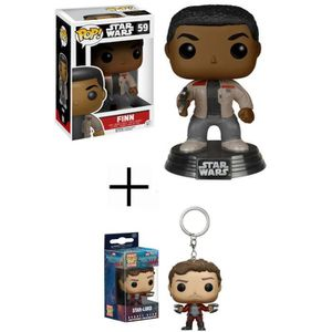 FIGURINE - PERSONNAGE Figurine Funko Pop! Star Wars Ep.7 : Finn + Pocket