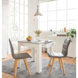 TABLE À MANGER SEULE OSLO Table à manger carrée de 2 à 4 personnes styl