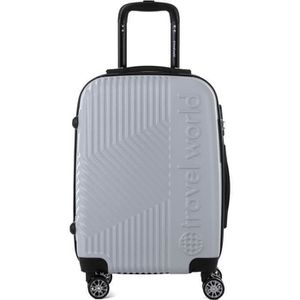 SET DE VALISES TRAVEL WORLD  Ensemble de 3 valises 55/65/75cm ave