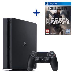 CONSOLE PS4 PS4 Slim 500 Go Noire + Call of Duty Modern Warfar