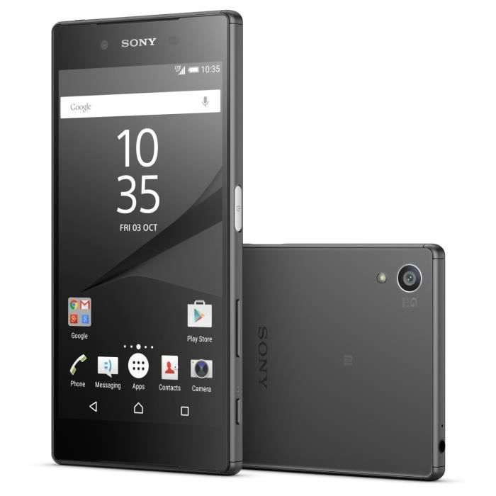 SMARTPHONE SONY Xperia Z5 Noir Dual Sim