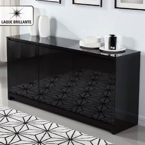 meuble bas enfilade achat vente meuble bas enfilade pas cher cdiscount. Black Bedroom Furniture Sets. Home Design Ideas