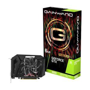 CARTE GRAPHIQUE INTERNE GAINWARD Carte graphique GeForce GTX 1660 6 Go PEG