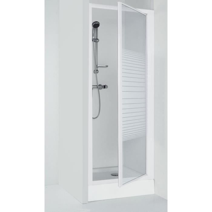porte de douche pivotante deba 90 cm achat vente porte de douche porte de douche pivotante. Black Bedroom Furniture Sets. Home Design Ideas