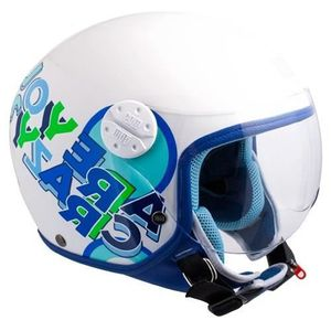 CASQUE MOTO SCOOTER CGM Casque Jet Kid 205G Sport Bleu