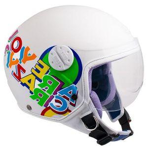 CASQUE MOTO SCOOTER CGM Casque Jet Kid 205G Sport Multicolore