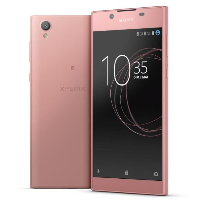 sony xperia l1 double sim rose achat smartphone pas cher. Black Bedroom Furniture Sets. Home Design Ideas