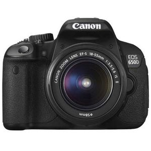 CANON EOS 650D 18-55mm IS II + 70-300 + Sac + SD